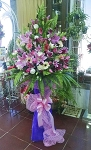 Pastel Color Flower Stand