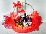 Gourmet Gift Basket ~ Red