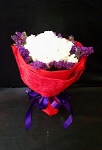 Red And Purple MIni Roses Bouquet