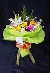 Green Garden Flowers Bouquet