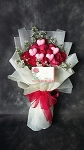 Florist's Special Hearts And Roses Bouquet