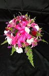 Fuschia Centerpiece