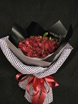 Ruby Red Roses Bouquet