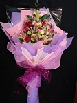 Light Purple And Pink Large Bouquet