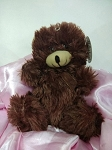 Chocolate Color Small Teddy Bear (*available only with purchase of flowers)
