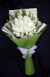 **New** White And Green Bouquet